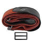 Modischer Jeans-Stretch-Gürtel, elastischer Taillengürtel für Damen und Herren, Kleidungszubehör (dunkelbraun)
