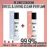 W.DRESSROOM Kleid & living klar Parfüm 150ml (keine 97 April Baumwolle) + (keine 49 Pfirsichblüte)