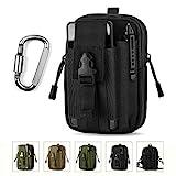 Unigear Gürteltasche Molle EDC 1000D/Multifunktionale Tasche mit Karabinerhaken für Radfahren, Wandern, Bergsteigen Sport Outdoor